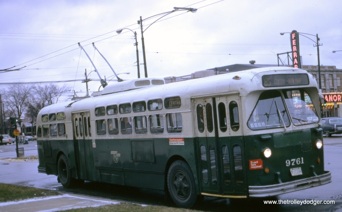 Central at North Avenue, December 3, 1972.