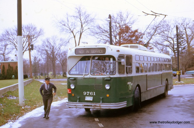 Belmont at Cumberland, eastbound, December 3, 1972.