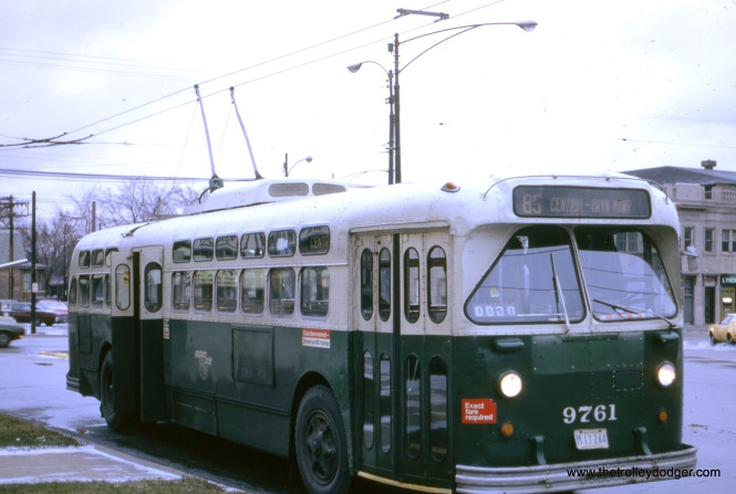 Central at North, northbound, December 3, 1972.