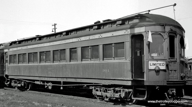 Car 301 (Niles, 1906).