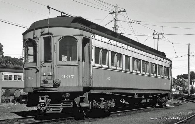 Car 307 (Niles, 1906).