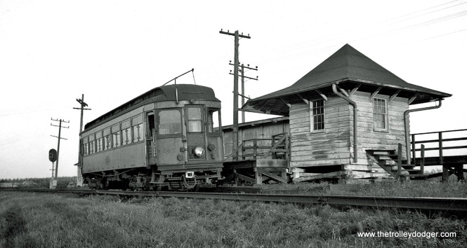CA&E 141 at Batavia Junction.