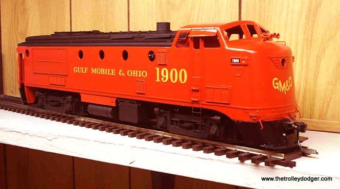A model of GM&O 1900.