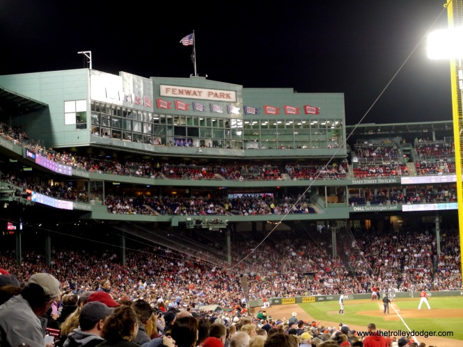It's been 40 years since I first visited Fenway Park. On this night, the Red Sox defeated the Tampa Bay Rays, 9-3.