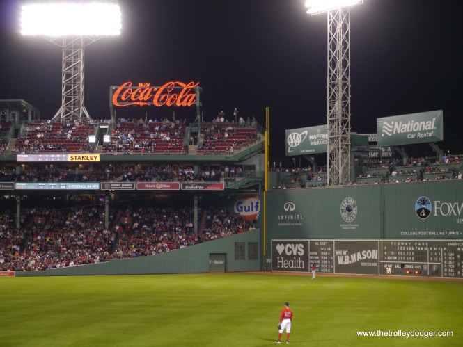 "Fenway is one of the most beloved ballparks in Major League Baseball, in part because of its 40-foot ""Green Monster"" wall in left field."