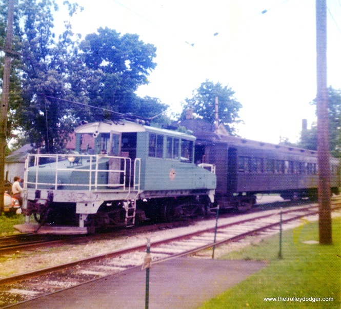 The East Troy Trolley Museum, June 23, 1974.
