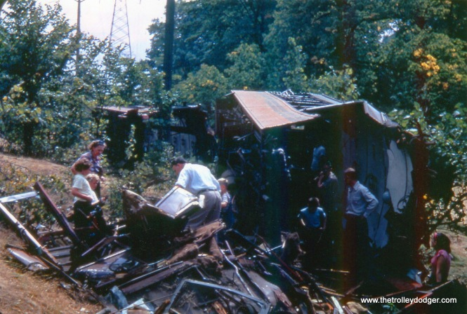 Remains of SR 39 dumped off r.o.w. 9-2-50 (color)