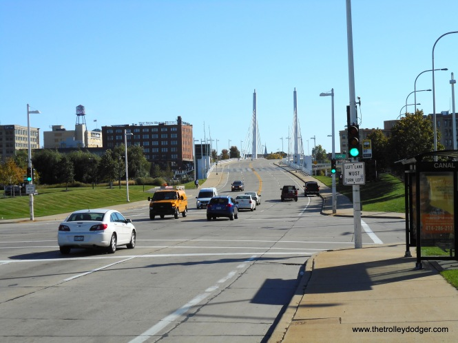 1E Bridge #2 looking south at 6th & Canal Sts. 10-18-17 C.N.Barney