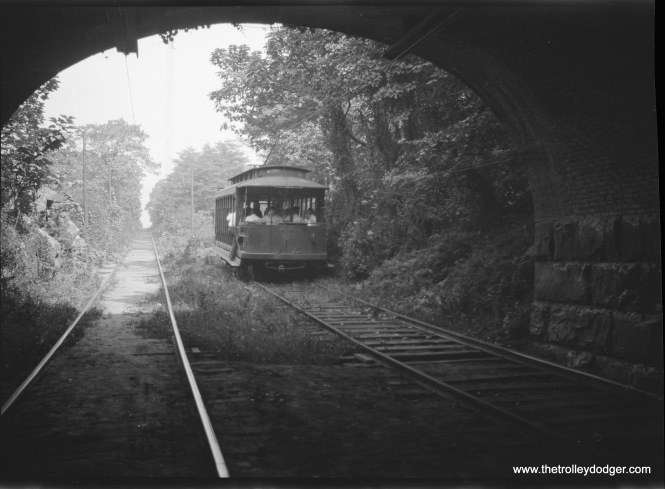 Car 31 near a tunnel.