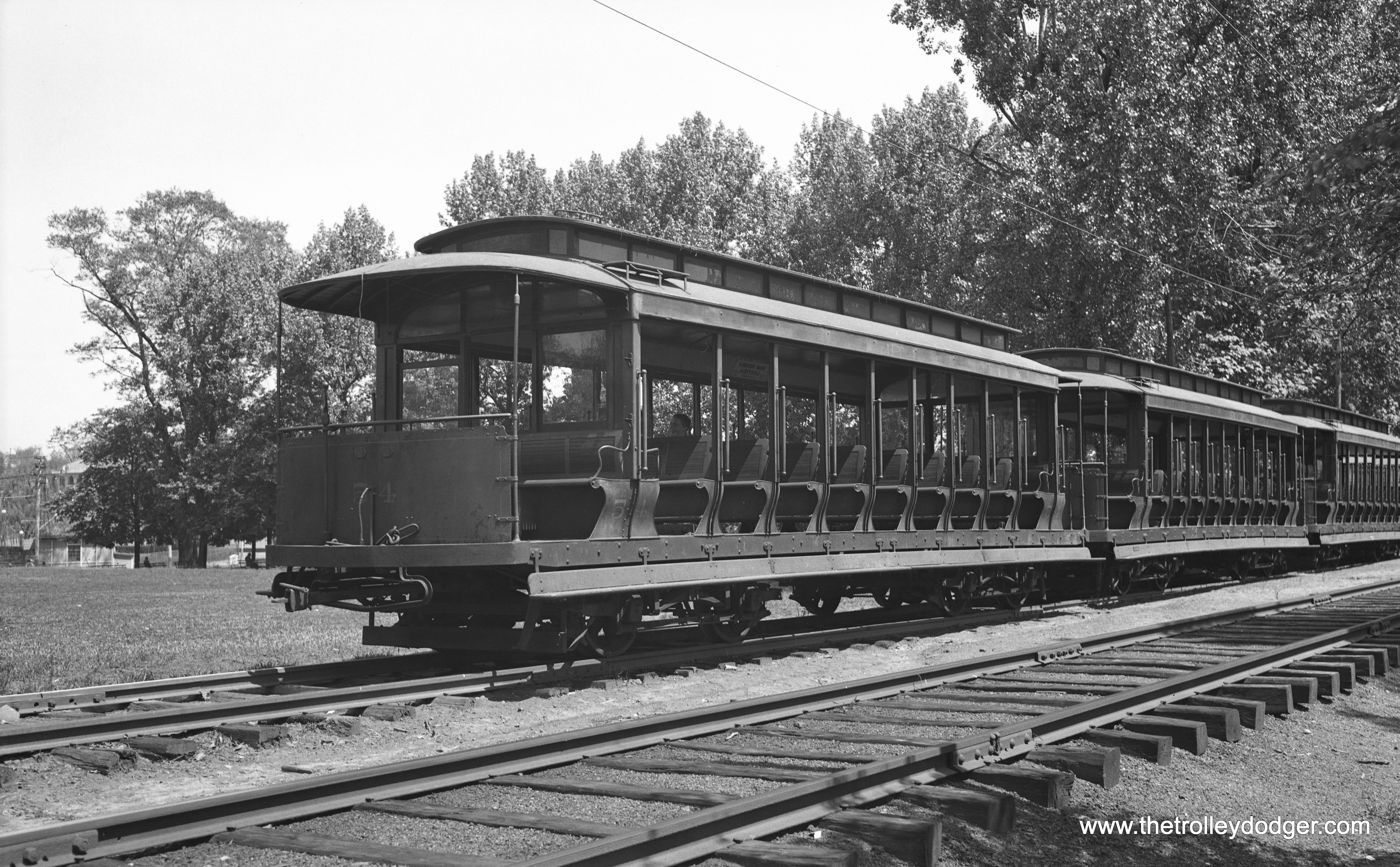 The Fairmount Park Trolley The Trolley Dodger