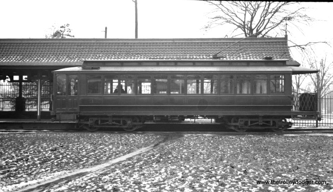 Car 3 on January 23, 1937. (W. Lupher Hay Photo)