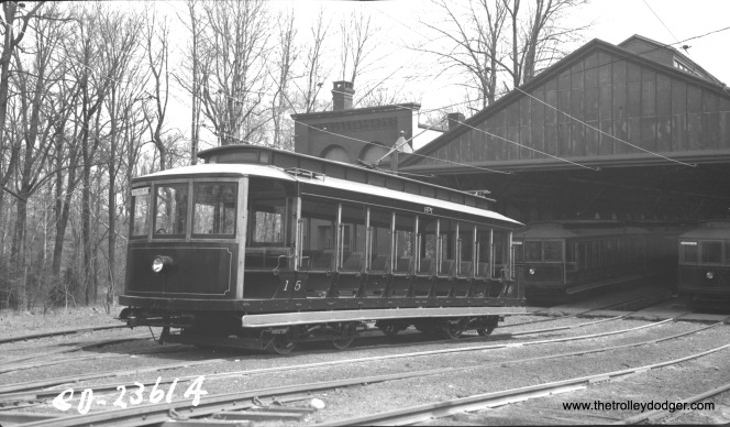 Car 16 on April 19, 1937.