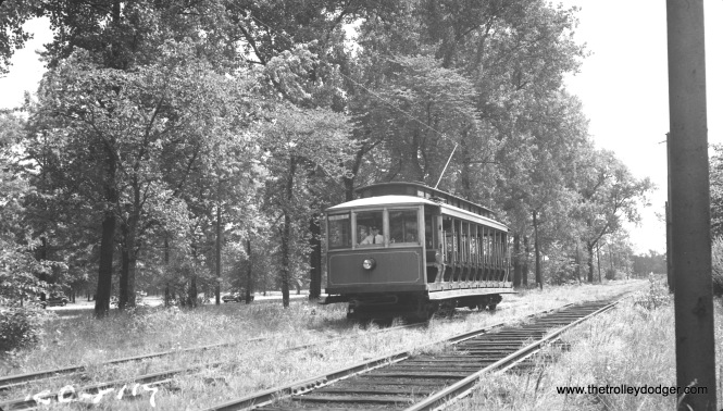 An open car at 44th Street in 1941.
