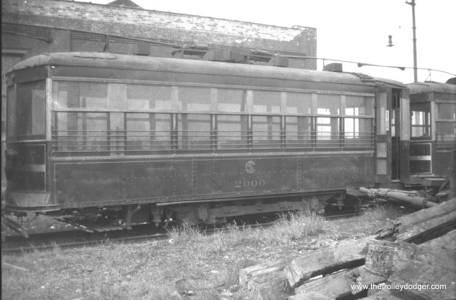 CSL Birney car 2000 in 1927.