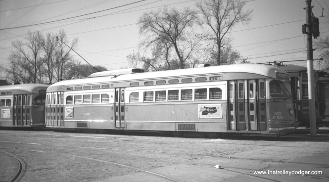 CTA 4401 on October 21, 1950.