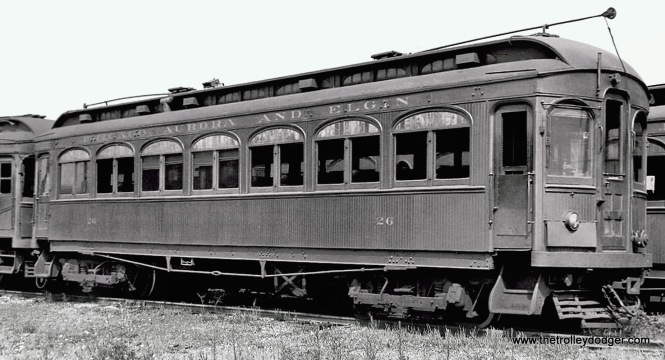 CA&E 26, built by Niles in 1902.