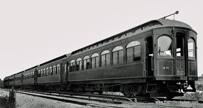 CA&E 48 as new. It was built by Stephenson in 1902.