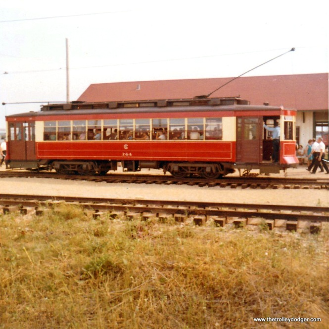 CSL 144 at the IRM depot in August 1970.