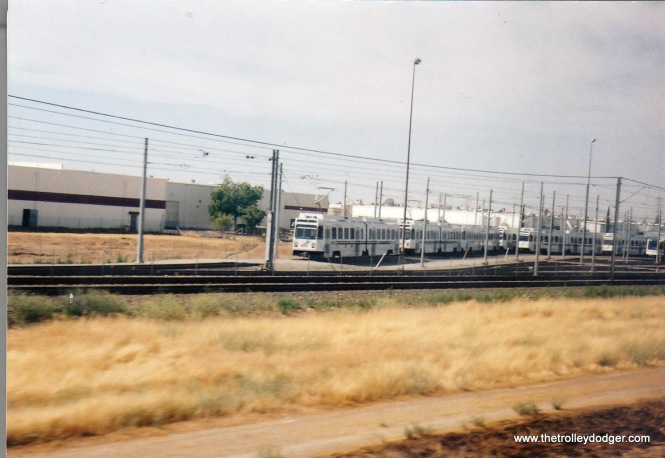 Sacramento RTD at Roseville Yards in 2004.