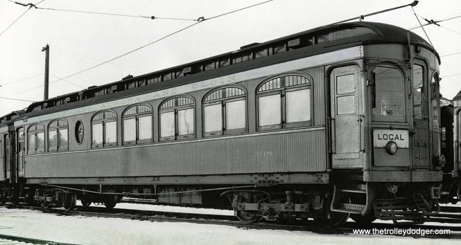 CA&E car 308, built by Niles in 1906.