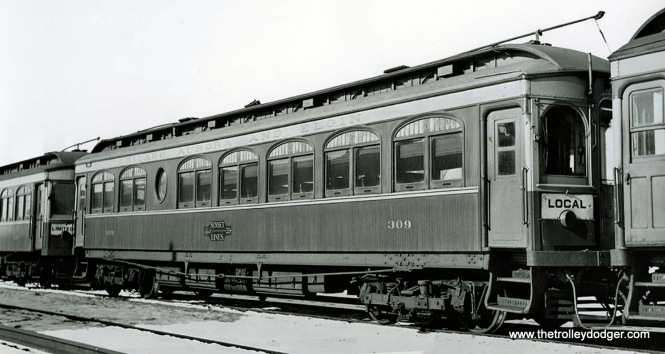 CA&E car 309, built by Hicks in 1908.