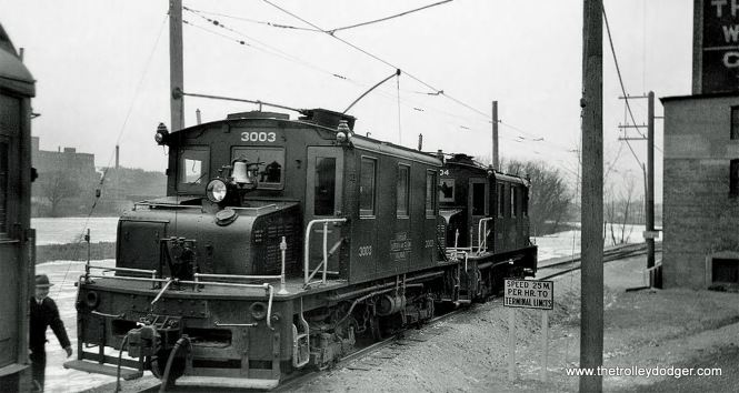 CA&E locos 3003 and 3004 were built by Westinghouse in 1923.