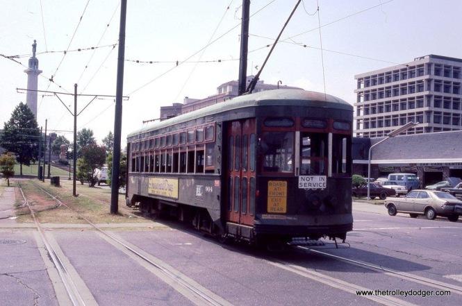 Car #904 New Orleans, LA. 6-1-82.
