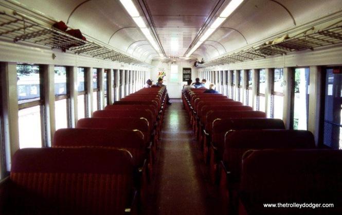 Inside Blueliner MU #9114.