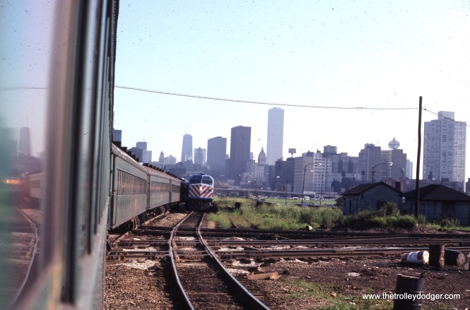The Rock Island in Chicago near 18th Street on August 3, 1978. (Joseph Piersen Photo)