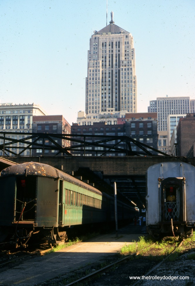 La Salle Street Station, Chicago on August 9, 1978. (Joseph Piersen Photo)