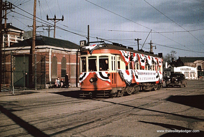 TM 660 at North Side Station, 3-31-48.