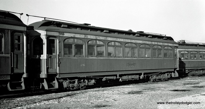 CA&E car 26 (Niles 1902).