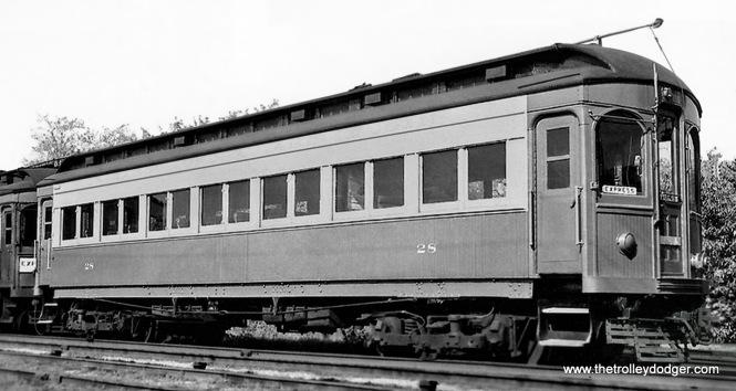 CA&E car 28 (Niles 1902).