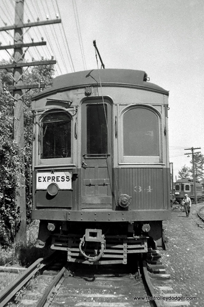 CA&E Car 34 end view (Stephenson, 1902).