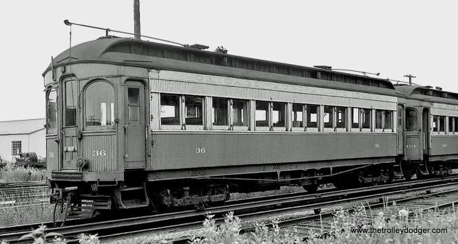 CA&E Car 36 (Stephenson, 1902).