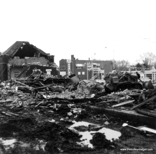 Demolition is nearly complete in this photo, also dated May 1966.
