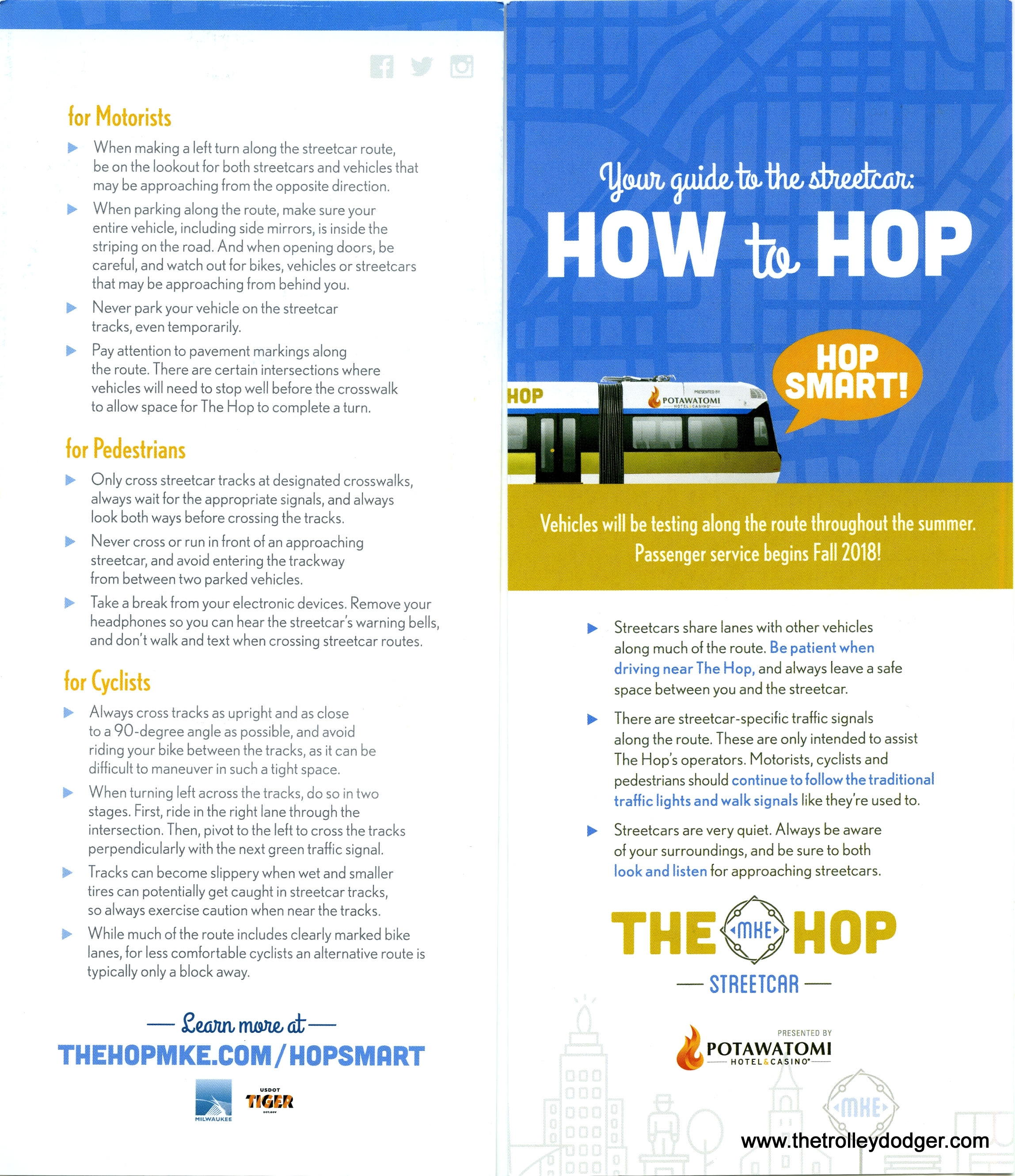 At the Hop – The Trolley Dodger