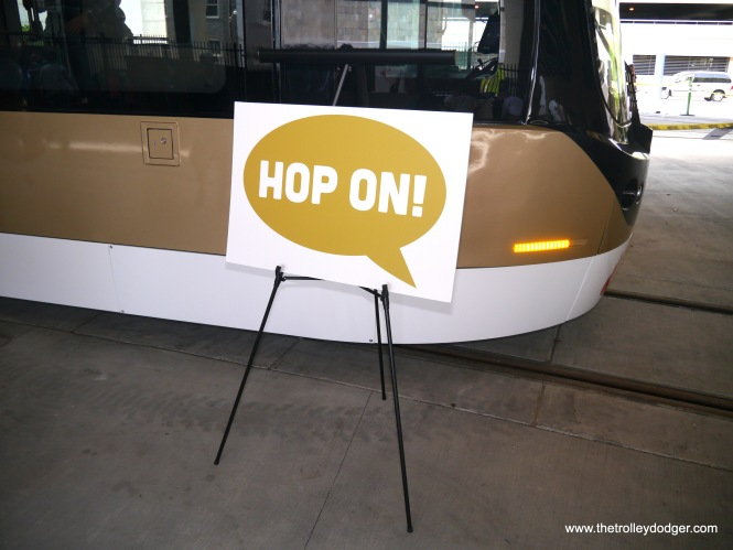 The idea behind Milwaukee's approximately two-mile-long first streetcar line is park your car, then hop on and off the streetcar as you make your way around the center city. Thanks to a generous donation from a local casino, fares will be free for the first year, and probably $1 after.