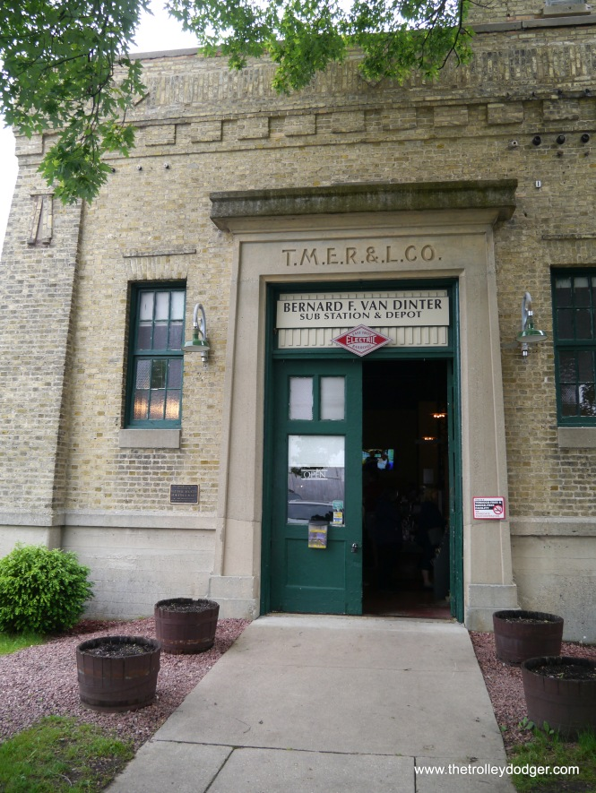 The former East Troy substation, now the museum's depot.