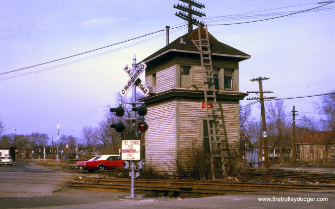 The Rock Island 91st Street Tower on April 5, 1970.