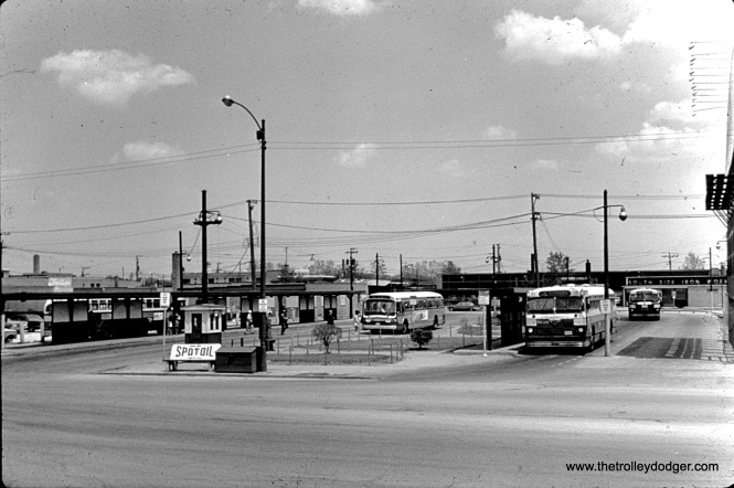 CTA buses at the Western and 79th loop.