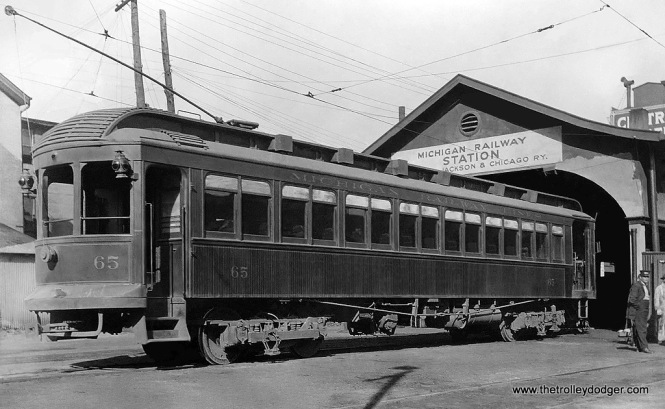 Michigan Railway Lines - Car 65.