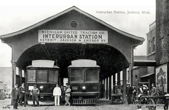 Jackson Interurban Station.