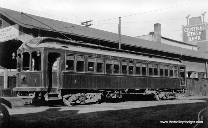 Michigan Railway Lines - Car 1.