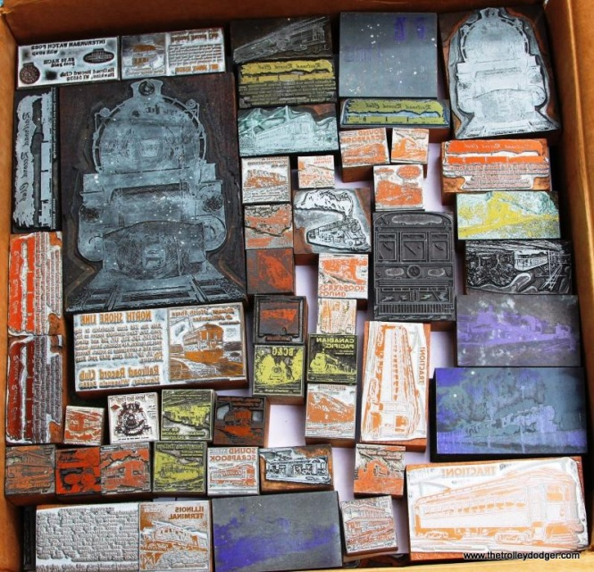 1 Selection of print blocks