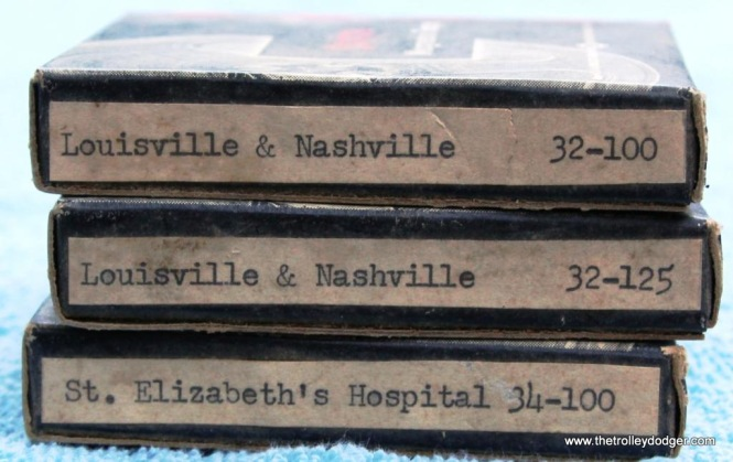 14 Close up of the 78rpm record master tapes
