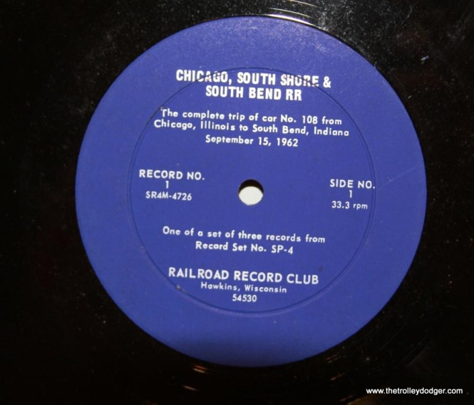 18 Label for 2nd edition of record 1 side 1 of RRC-SP4