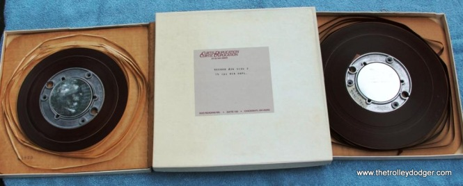 22 Railroad Record Club Master tapes