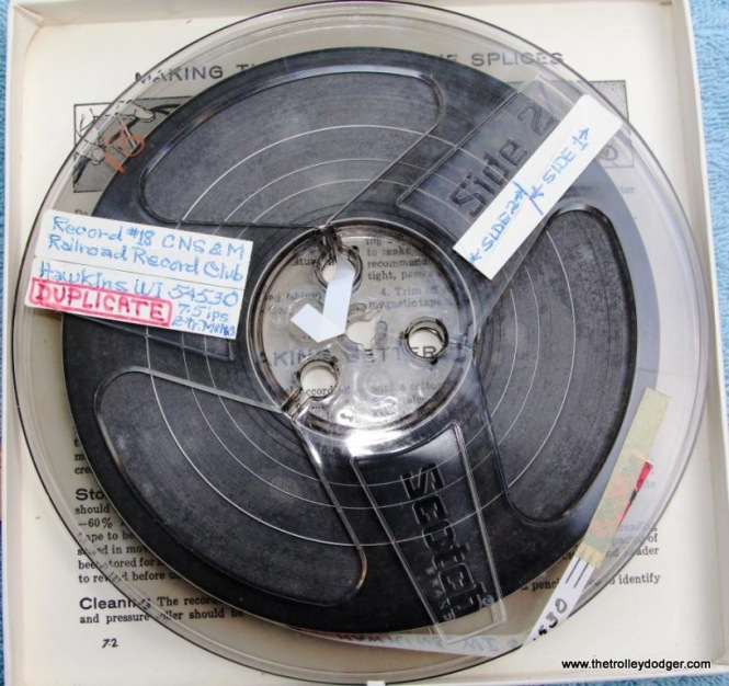 29 master tape Railroad Record Club number 18