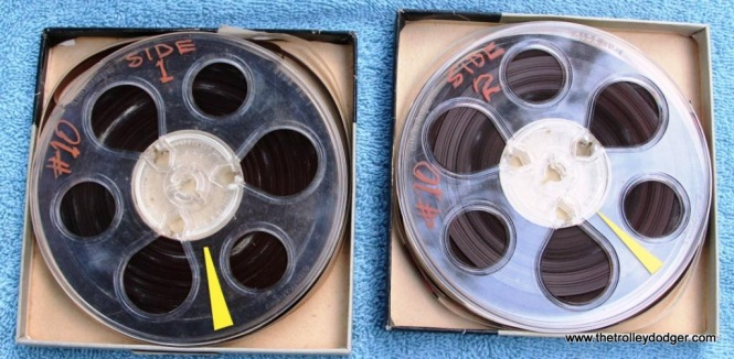 34 master tapes Railroad Record Club number 10